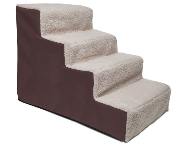 Surprising Paws Pals Dog Stairs Pet Step Stool Ramp 4 Steps For Dailytribune Chair Design For Home Dailytribuneorg